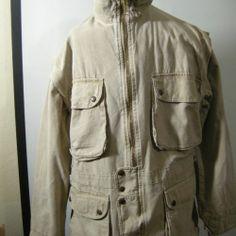 Australian Outback Collection Vtg Jacket with Detachable Arms Men's L | eBay