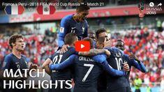 vs peru 1 0 fifa world cup 2018 match 22 all World Cup Russia 2018, World Cup 2018, Fifa World Cup, Albert Camus, Match Highlights, Football, Peru, Youtube, France Vs