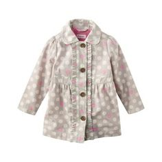 $20 Genuine Kids from OshKosh ™ Infant Toddler Girls Lightweight Trench Jacket - Tan