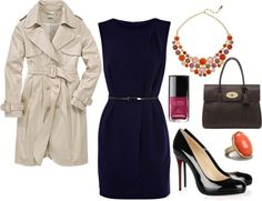 """""""Ideal Fall Work Outfit"""" by britni-hunt on Polyvore"""