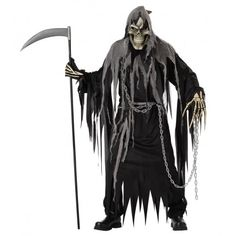 disfraces de halloween disfraz muerte del inframundo