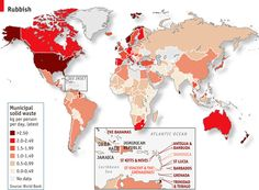 A #rubbish #map - economist.com  #FlipOver