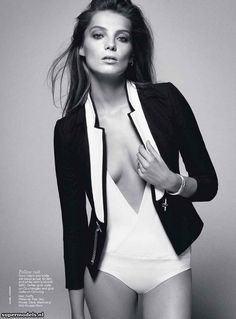 Daria Werbowy in 'Daria' - Photographed by Daniel Jackson   - Vogue Australia June 2012