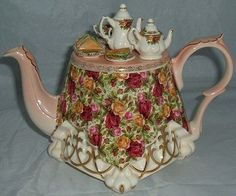 Royal albert CARDEW Collector Teapots