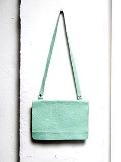 80s seafoam #vintage #purse