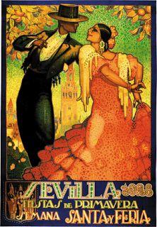 Flamenco in Sevilla Vintage travel poster Print Spanish Posters, Illustrations, Vintage Travel Posters, Poster Prints, Art Prints, New Wall, Vintage Art, Cabaret Vintage, Vintage Signs