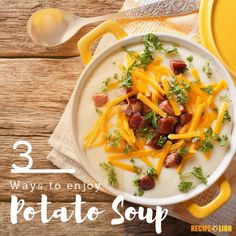 We love potato soup! Check out our favorite potato soup recipes of the moment right here.