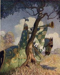 A Boys King Arthur - N. C. Wyeth