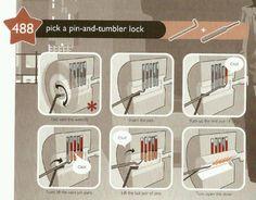 Cómo abrir una cerradura