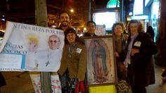 con Maria de Guadalupe rezamos por Francisco #unidosalpapa
