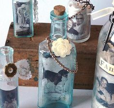 Glass Jar Photo Frames and Gift Ideas | DIY Recycled