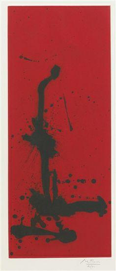 Robert Motherwell, RED SEA III (WALKER ART CENTER 316)