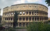 Rome, Italy ~ The Colosseum.
