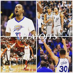 For the 1st time in NBA history, four teams have won their opening playoff game by 25 points or more. 4/17/2016