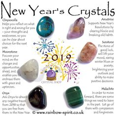 New Year's crystals
