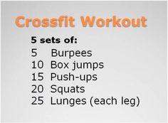 short crossfit workout!