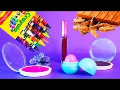 5 DIY Makeup Projects You Need To Know! Simple DIY Lipstick using Supplies like EOS, Crayons! ! - YouTube