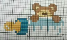 quilting like crazy Baby Cross Stitch Patterns, Cross Stitch For Kids, Cross Stitch Baby, Cross Stitch Charts, Hand Embroidery Videos, Hand Embroidery Patterns, Cross Stitching, Cross Stitch Embroidery, Stitch Cartoon