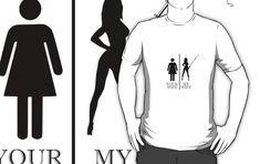 'Fishing wife' T-Shirt by handcraftline Pop Art, Fishing, Tees, Funny, Cute, T Shirt, Supreme T Shirt, T Shirts, Tee Shirt