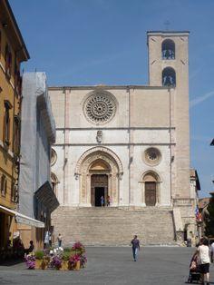 Italy  - Todi - Duomo Di Todi, Umbria Region - Province of Perugia