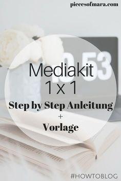 Was muss in ein Mediakit? + Vorlage #howtoblog Blogger Help, Blogger1x1, Anleitung für ein Mediakit, Ab wann braucht man es,..