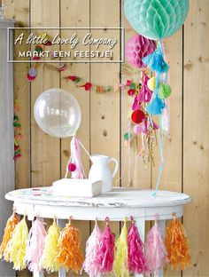 a little lovely company, feest, decoratie, xl balonnen, slingers, kinderfeest