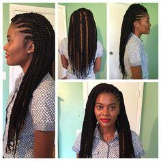 Havana Twists Ghana Braids Cuban Twist Hair