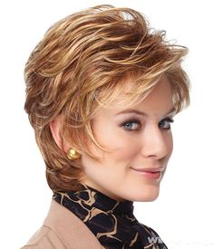 Dressing yourself with our designer short wigs and make you look like stylish and fashion. Short wigs online shopping is your best choice. These short wigs are ideal for looking chic and feeling cool. Short Shag Hairstyles, Wig Hairstyles, Pixie Haircuts, Female Hairstyles, Layered Hairstyles, Short Hair With Layers, Short Hair Cuts, Curly Hair Styles, Natural Hair Styles