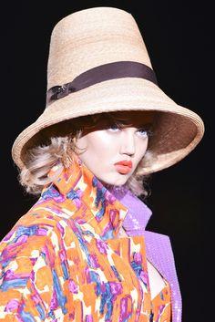 Close up défile Dsquared2 prêt-à-porter printemps-été 2014, Milan. #MFW #SS14 #fashionweek