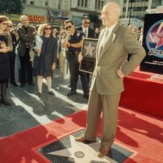 On this day in 1996 Patrick Stewart was honored with a star on the Hollywood Walk of Fame!  #startrek by startrek