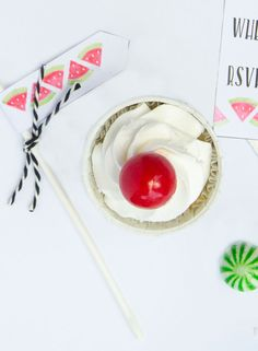 Watermelon Ideas with Silhouette Mint