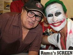 With DANNY DeVITO a.k.a The Penguin, at Comic-Con 2009. Check out my movie blog: Rama's SCREEN at www.ramascreen.com and LIKE my Facebook page at facebook.com/ramascreen and follow me on twitter at @RamasScreen #ItsAlwaysSunnyInPhiladelphia #IASIP #DannyDeVito #Penguin #BatmanReturns
