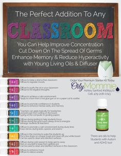 What if their classrooms were calm and peaceful with learners? Wouldn't that be a great classroom to be in? Well The Young Living Essential...