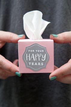 Diy Geschenk für die Hochzeit