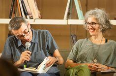 Sabrina Ragucci e Giorgio Falco al 1° appuntamento di Incontri 2016