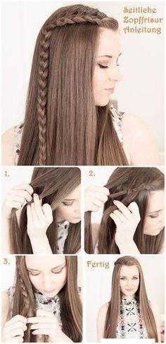 15 Tutoriales de Peinados para Pelo Largo - Preciosos ! - Peinados #peinadosde15