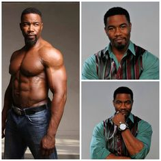 Born: November 10th 1967 ~ Michael Jai White via picmonkey.com