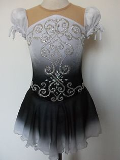 Customized Ice Skating Baton Twirling Dance Dress | eBay