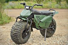 Moto 2×2 Tarus Motorcycle Can Rip Through Mud, Rocks, And Other Rough Terrain