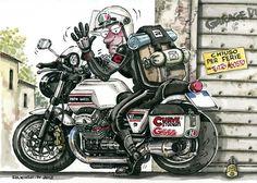 comical Moto Guzzi V7 Classic !! --- img068