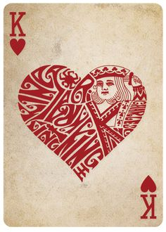 King of Hearts - Different Deck - Playing Cards Reinvented by Teach By Magic — Kickstarter Deck Of Cards, Your Cards, Queen Chess Piece, Playing Cards Art, Playing Card Design, Vintage Playing Cards, Pokerface, Queen Of Spades, Card Tattoo
