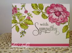One Smile lifts A Spirit: Sympathy Cards