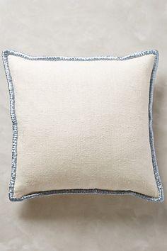 Raffia Embroidered Pillow - anthropologie.com