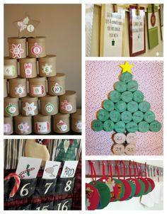 10 Easy and frugal DIY Advent Calendar Ideas!