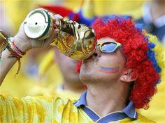 Los hinchas #colombianos sueñan con una buena actuación de #Colombia en el Mundial #Brasil2014
