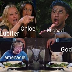 Lucifer 3, Tom Ellis Lucifer, Wtf Funny, Funny Memes, Hilarious, Series Movies, Tv Series, Lucifer Characters, Image Hilarante