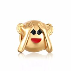 18 Style Lovely Emoji Charm Beads Fit Pandora Bracelet Jewelry DIY Big Hole Diy Charms For Women Men Heart Shape Pendant  http://playertronics.com/product/18-style-lovely-emoji-charm-beads-fit-pandora-bracelet-jewelry-diy-big-hole-diy-charms-for-women-men-heart-shape-pendant/