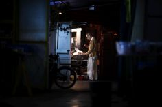 The Chef, by Sean Cramer.  Tiny night scene in Hong Kong.