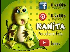 Cold porcelain frog / Ranita en Porcelana fría / Patty Creativa