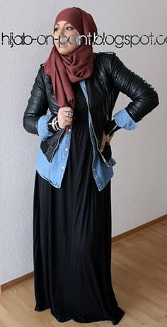 hijab on point